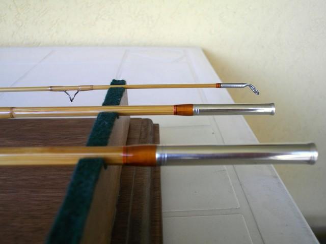 custom rods - M  Gallo bamboo and fiberglass fly rods